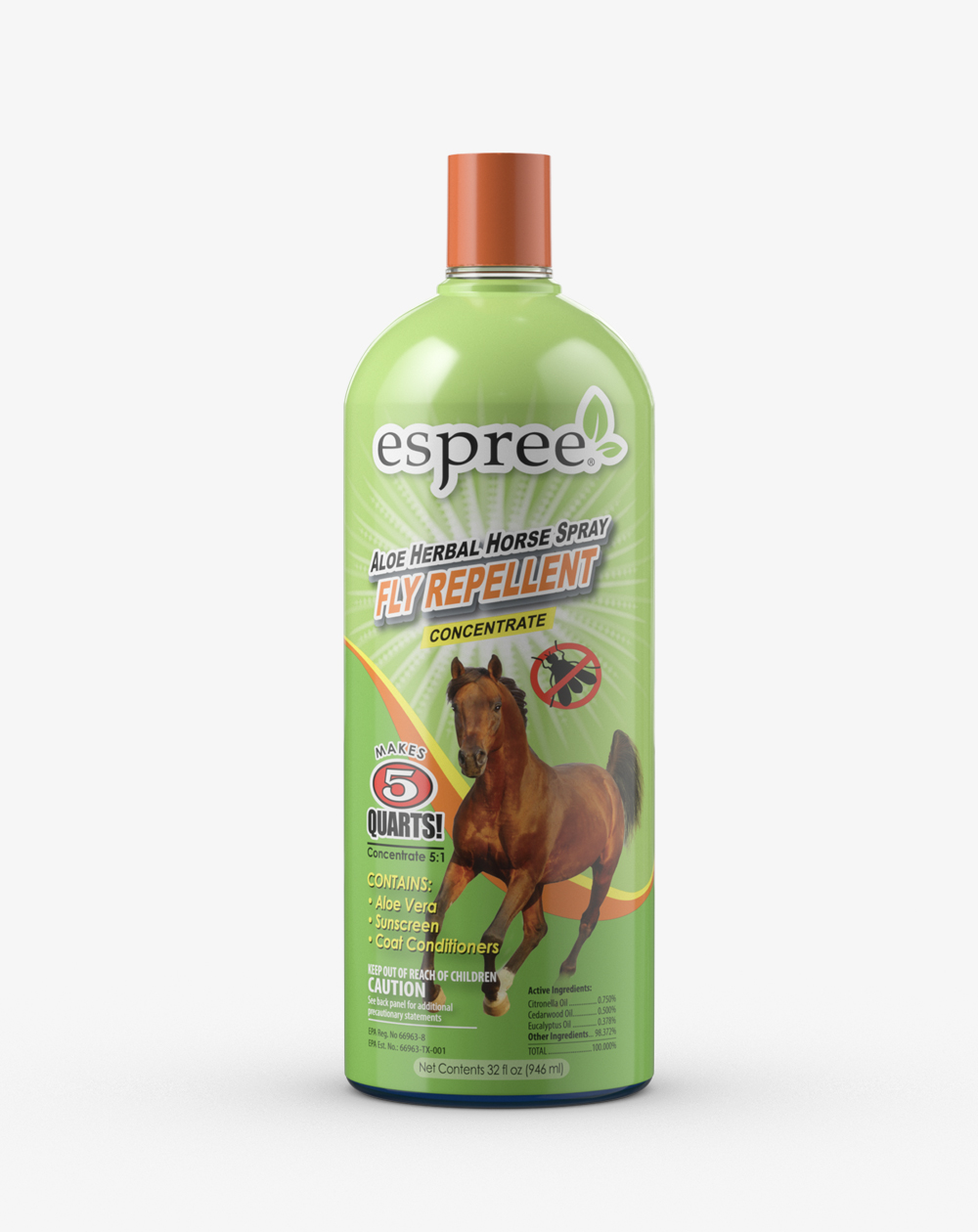 Espree Aloe Herbal Horse Spray Concentrate