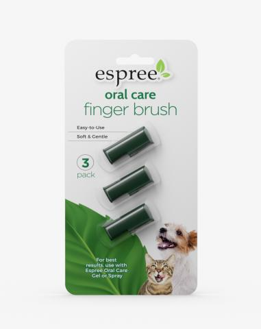 Espree Oral Care Finger Brush for Dogs and Cats