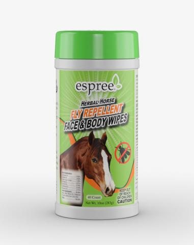 Espree Aloe Herbal Horse Fly Repellent Wipes